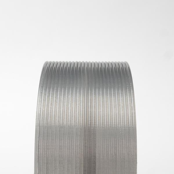 Proto-pasta 1.75 mm HTPLA filament, Silver Smoke translucent
