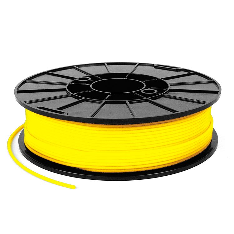NinjaTek 1.75 mm NinjaFlex flexible filament, Sun yellow
