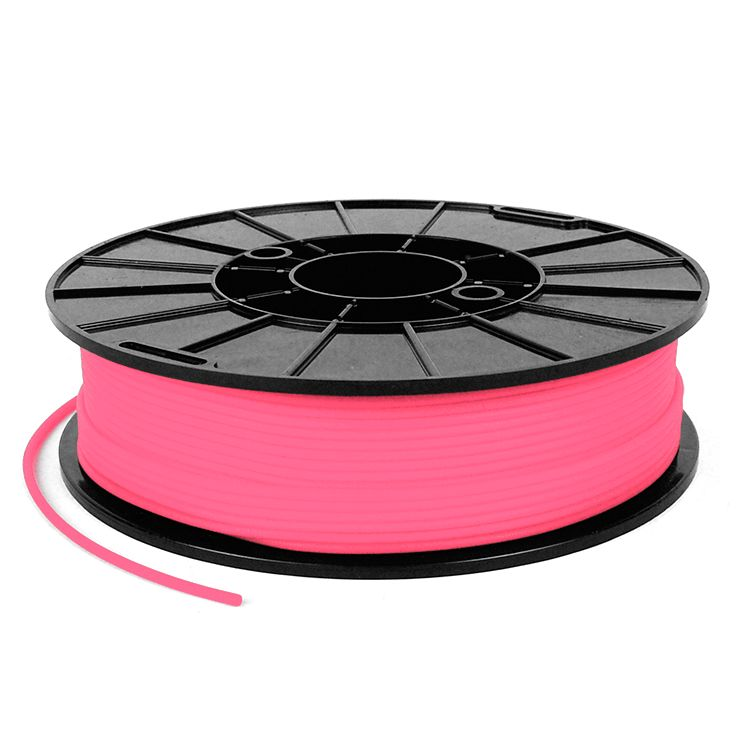 NinjaTek 2,85 mm NinjaFlex filamento flessibile, Rosa flamingo