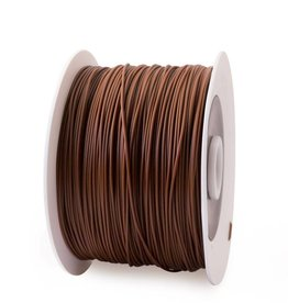 EUMAKERS 1.75 mm PLA filament, Dark Brown