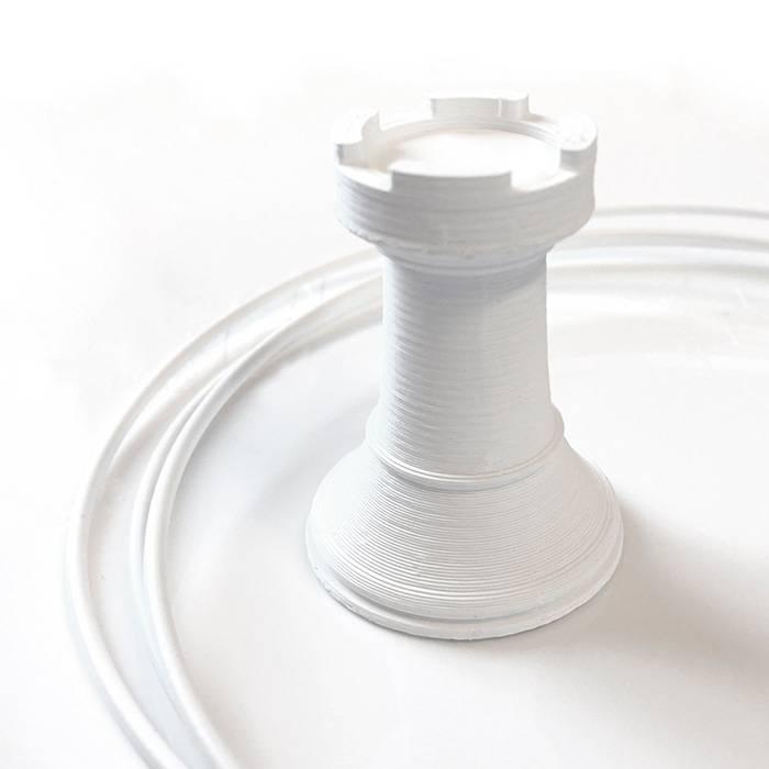 feelcolor 2.85 mm Kanova materic filament, Marble White