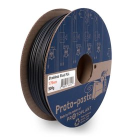 Proto-pasta 1.75 mm Stainless Steel PLA filament, Grey