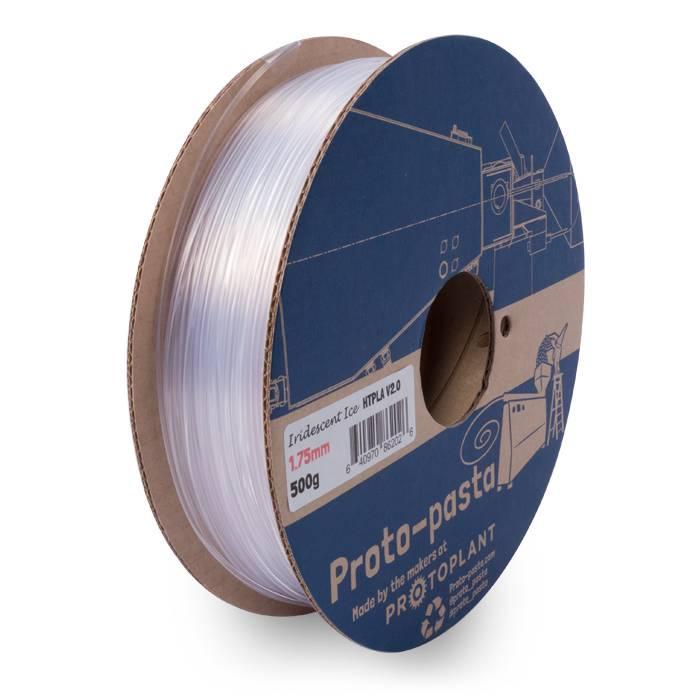 Proto-pasta 2.85 mm HTPLA filament, Iridescent Ice