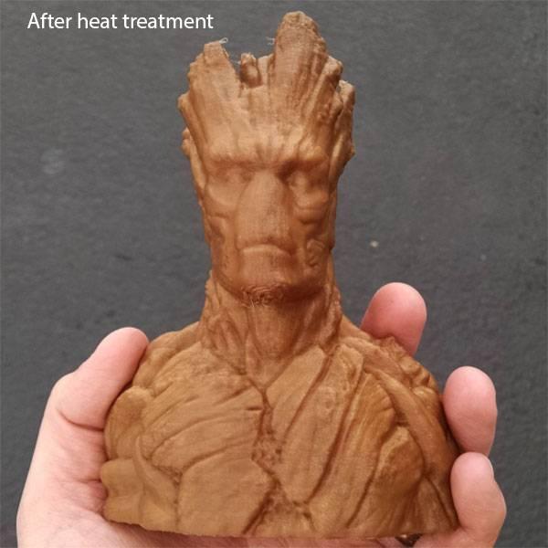 Proto-pasta 1.75 mm HTPLA Aromatic Coffee filament, Bronze