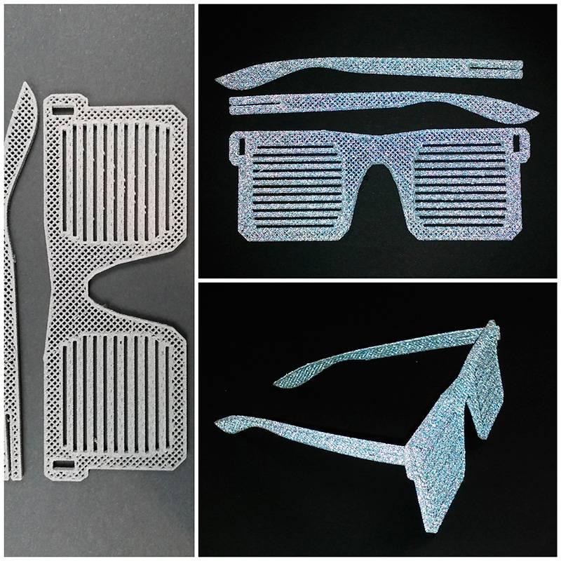 Lay Filaments 2,85 mm Reflect-O-Lay filamento catarifrangente, Grigio