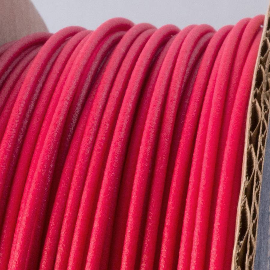 Proto-pasta 1.75 mm Matte Fiber HTPLA filament, Red