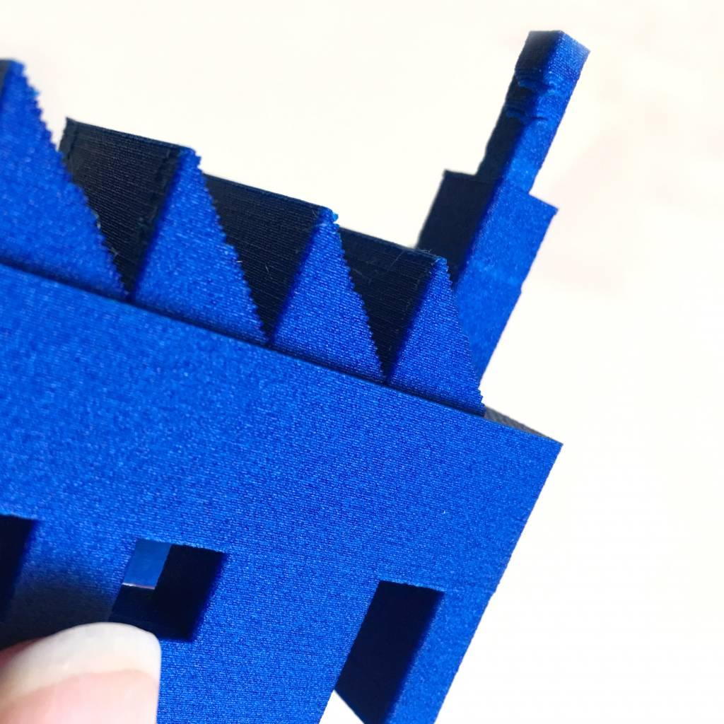3d Printers & Supplies Proto-pasta Blue Matte Fiber Htpla Filament 1.75mm 500g