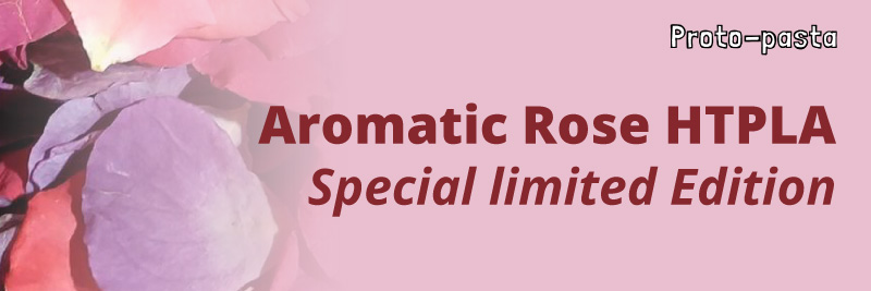 Aromatic Rose HTPLA scented 3D filament