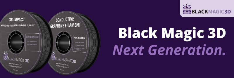 Black Magic 3D filament