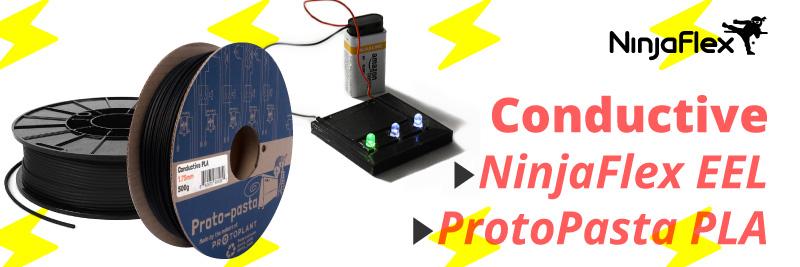PLA conductive and TPU flexible conductive