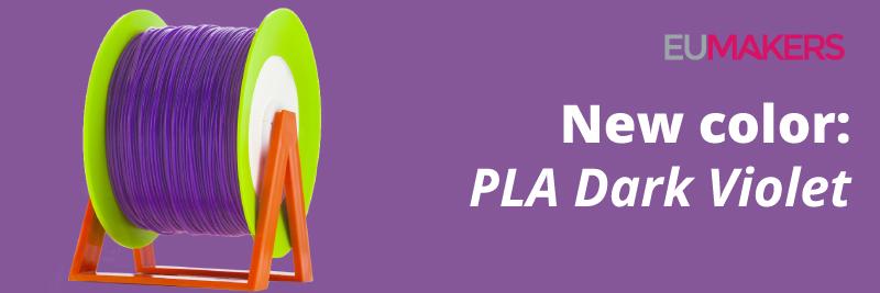 Eumakers Dark Violet PLA 3d filaments
