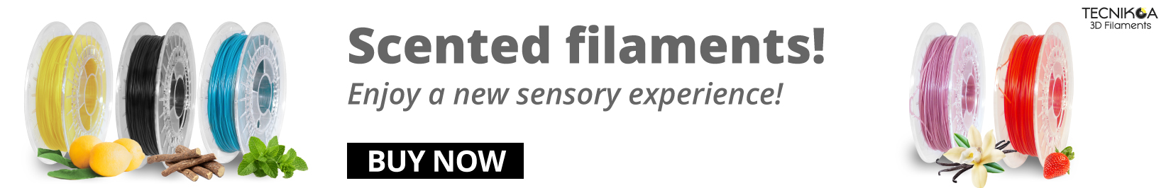 scented 3d filaments