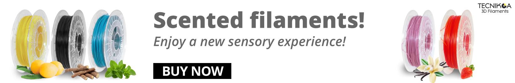 Filafresh filaments, scented TPU