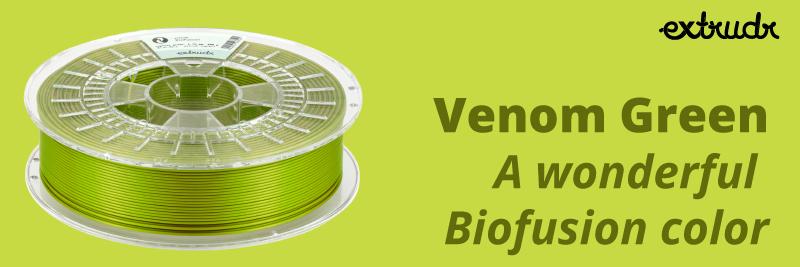 Venom green 3d filaments
