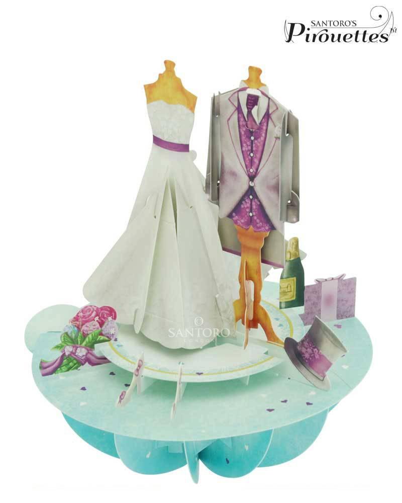 Santoro London Huwelijk - Santoro Pirouettes