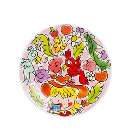 "Blond Amsterdam Petit Four bordje 12cm Roze ""Paradise"" - Blond Amsterdam"