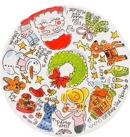 Blond Amsterdam Ontbijtbord Love Christmas Santa - Blond Amsterdam