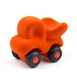 Rubbabu Laadwagen klein 9,5x6cm oranje - Rubbabu
