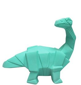 House of Disaster Origami Lamp mini Dinosaurus groen - House of Disaster