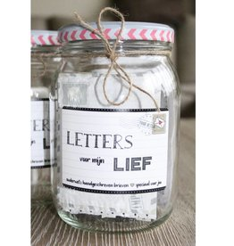 Kletspot Letters voor mijn Lief - Kletspot