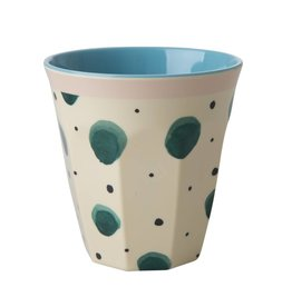 Rice Beker Melamine met Watercolor Splash print - Rice