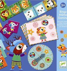 Djeco Bingo, Domino en Memorie +3jr - Djeco