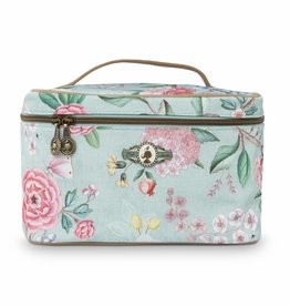 Pip Studio Beauty Case Floral Good Morning blauw - Pip Studio