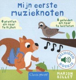 Mijn eerste Muzieknoten Geluidenboek +1jr - Marion Billet
