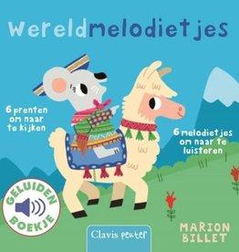 Wereldmelodietjes geluidenboek - Marion Billet