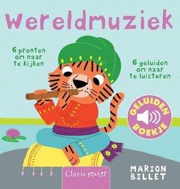Wereldmuziek geluidenboek +1jr - Marion Billet