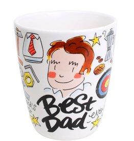 Blond Amsterdam Beker Best Dad - Blond Amsterdam