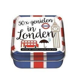 50x Genieten in Londen - 50 Hippe Hotspots