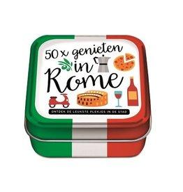 50x Genieten in Rome - 50 Hippe Hotspots