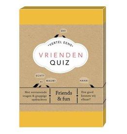 Vertel Eens - Vrienden Quiz