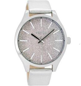 OOZOO Horloge Zilver 42mm C9120- OOZOO