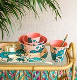 Rice Bord ovaal Melamine Blue Poppy Print - Rice