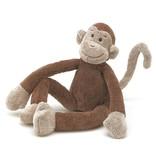 Jellycat Knuffel Slinger Aap Slackajack Monkey - Jellycat