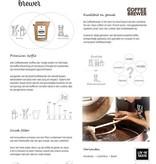 LIV 'N TASTE Coffee Giftset met Koffiebonen en 2 glazen - LIV 'N TASTE