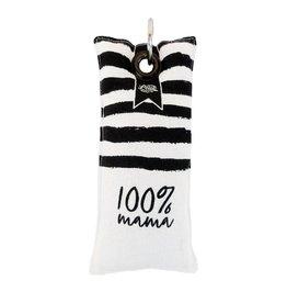 100% Leuk Sleutelhanger 100% Mama