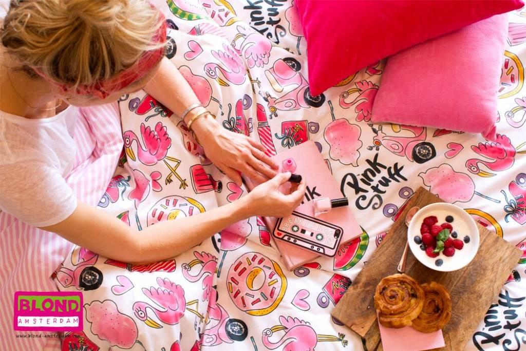 Blond Amsterdam Dekbedovertrek Lits-Jumeaux 2-pers 240X220+60X70 Pink Stuff - Blond Amsterdam