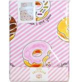 Blond Amsterdam Dekbedovertrek Lits-Jumeaux 2-pers 240X220+60X70 Donuts - Blond Amsterdam