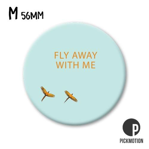 Magneet Pickmotion 56 mm Fly Away With Me
