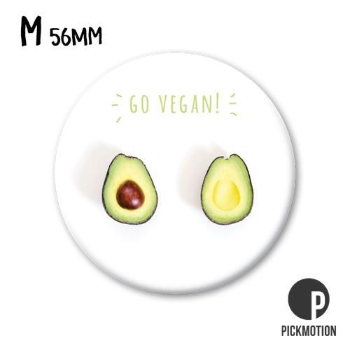 Magneet Pickmotion 56 mm Go Vegan!