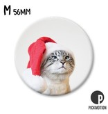Magneet Pickmotion 56 mm Christmas Cat