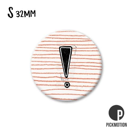 Magneet Pickmotion 32 mm Symbool !
