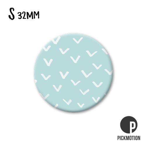 Magneet Pickmotion 32 mm Patroon Vogels