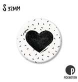 Magneet Pickmotion 32 mm Heart