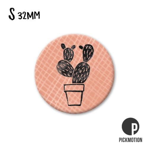 Magneet Pickmotion 32 mm Cactus
