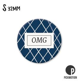 Magneet Pickmotion 32 mm Quote OMG