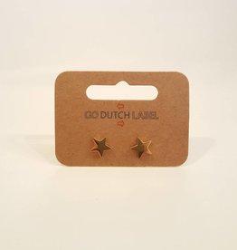 Go Dutch Label Oorbellen Sterren 18K Goud - Go Dutch Label